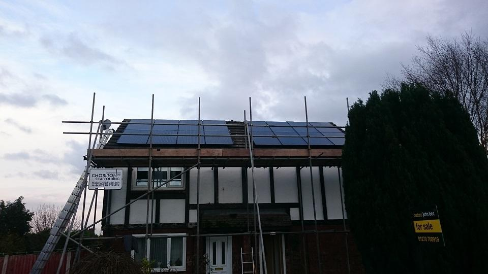 2 x 2kw Solar PV Install In Middlewich