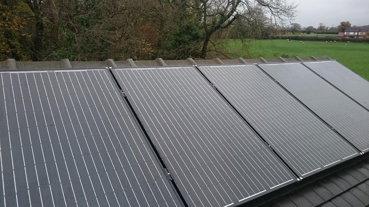 4kw Install North Rode, Congleton