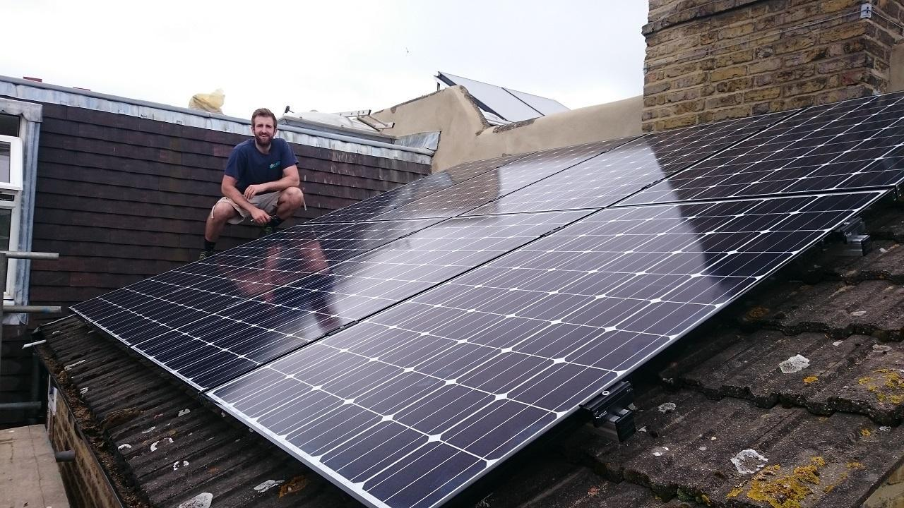 Barronsfield Rd, London 2.4kw System.
