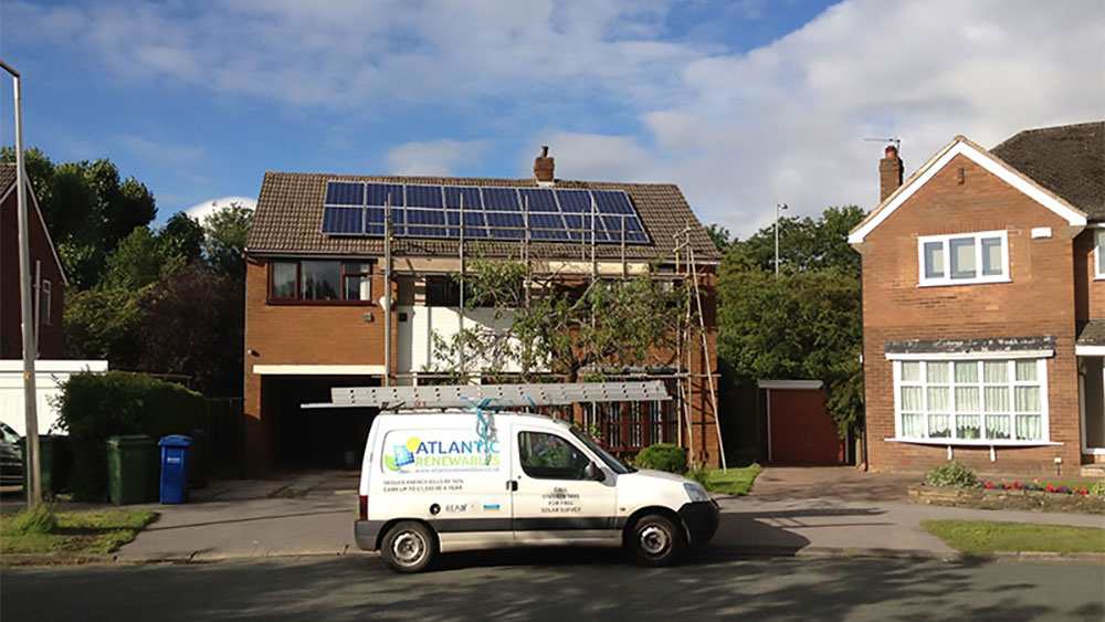 Cheadle 4 kW Solar PV Installation - Manchester