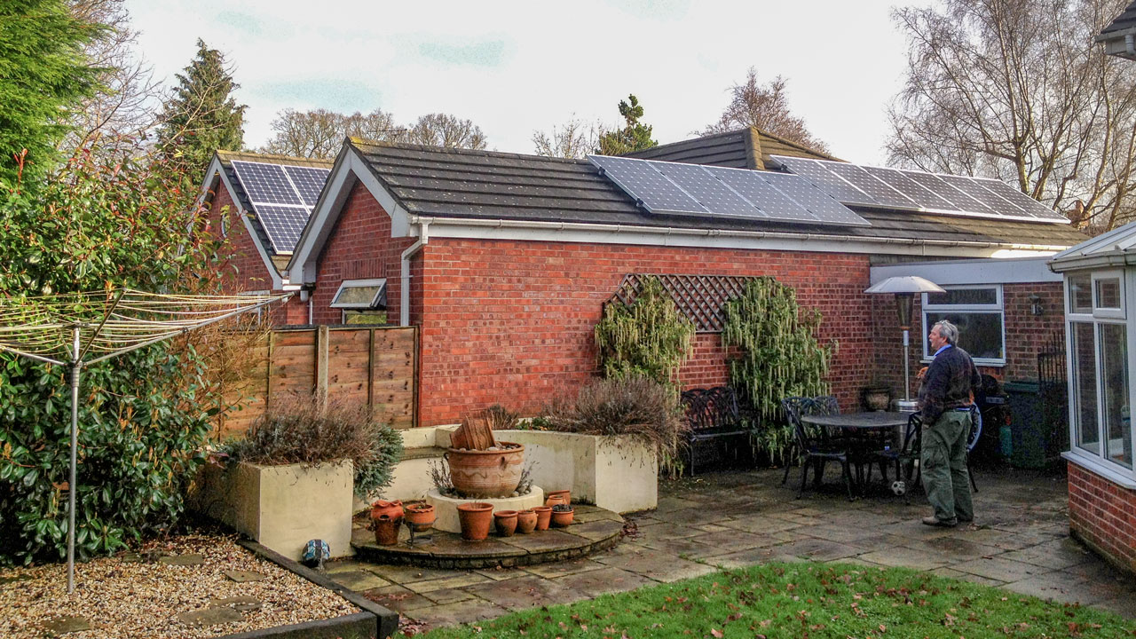 Mr Bannell, Chester - 4kW Micro-inverter Solar System