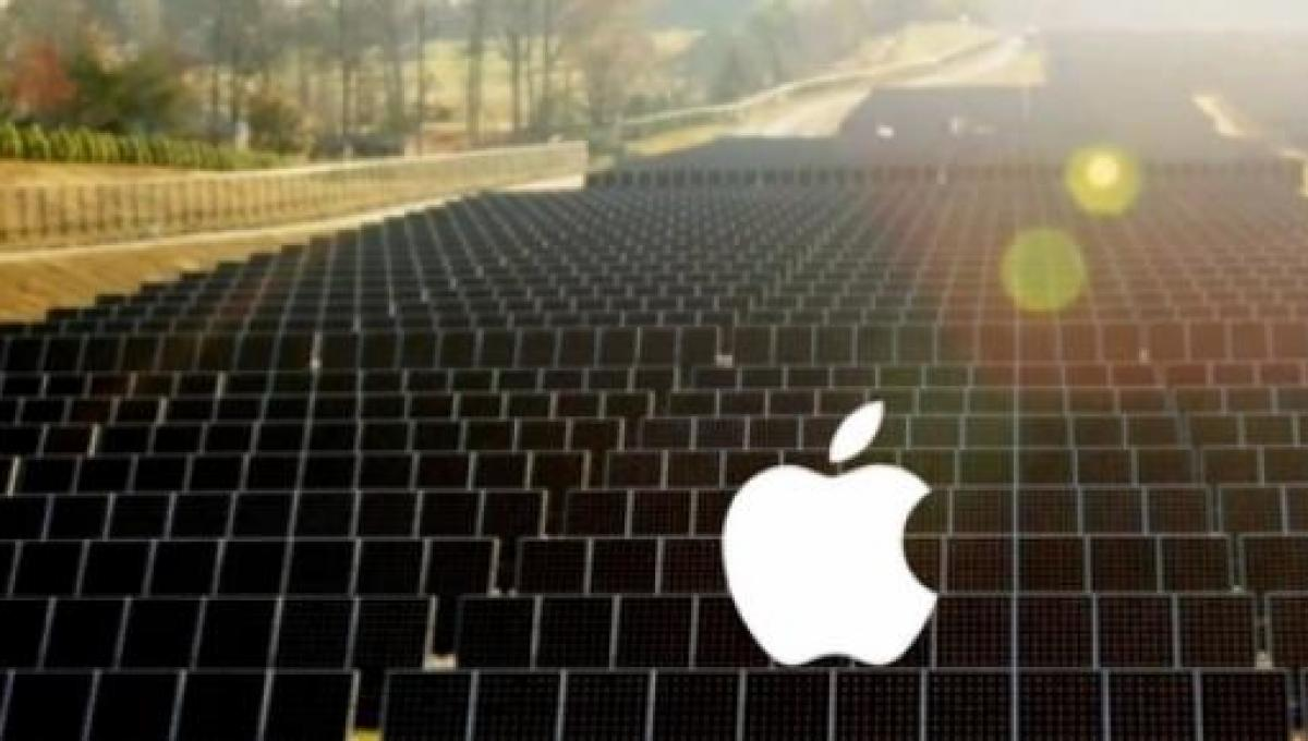 Apple eyes solar to power the cloud and iPhone 6 sapphire manufacturing
