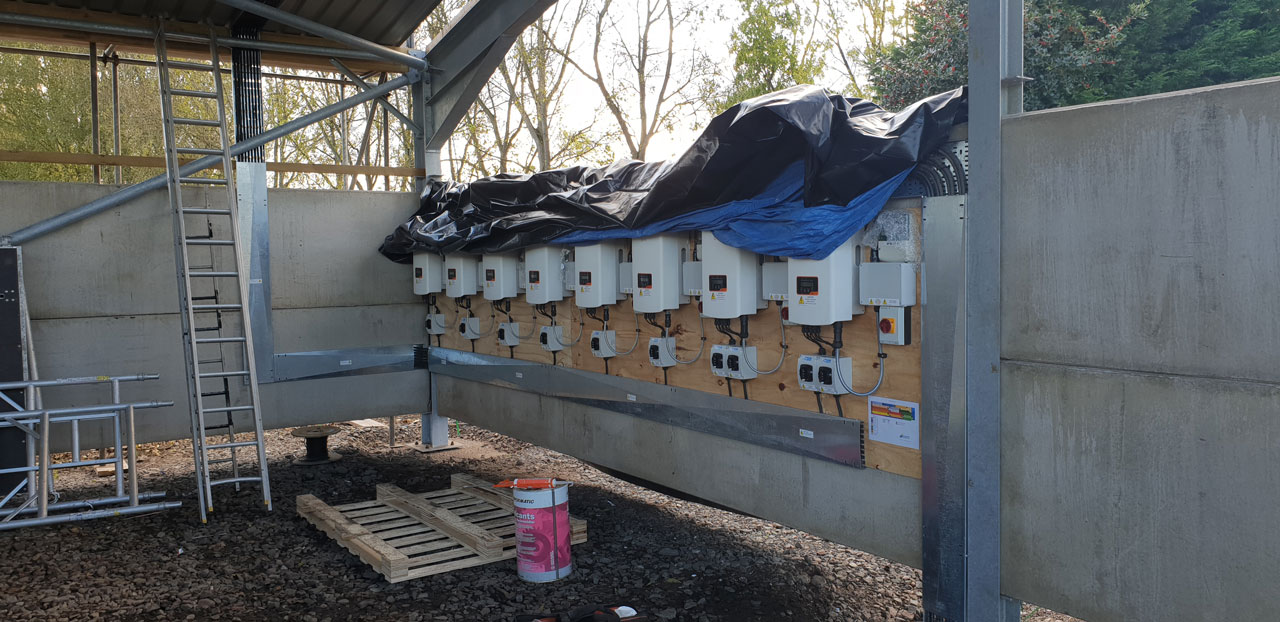 Cheshire Farm Solar Inverters